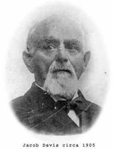 Jacob Davis, spécialiste des rivets appliqué au Jean 1905